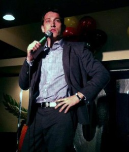 Christmas Party Comedian James Uloth