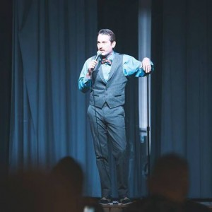 How to have a fundraiser comedy night James Uloth