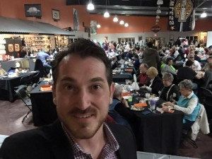 book comedian in Edmonton for Christmas party