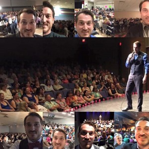 past fundraiser comedy nights that raised lots of funds